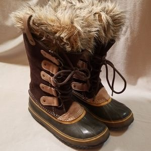 Sorel Joan of Arctic Brown Winter Boots Size 8